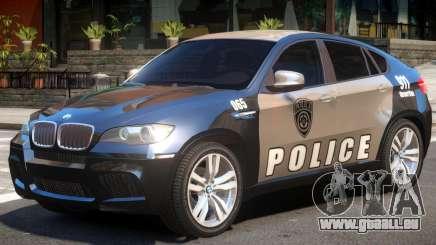 BMW X6 Police für GTA 4