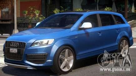 Audi Q7 V12 Upd pour GTA 4