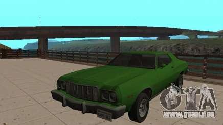 Ford Gran Torino 1974 Vert pour GTA San Andreas