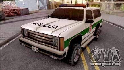 Lietuviska Police Ranger v2 pour GTA San Andreas