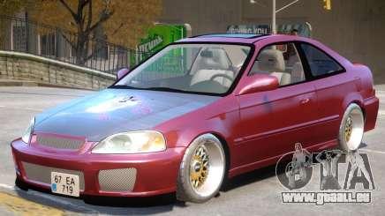 Honda Civic V1 Upd pour GTA 4