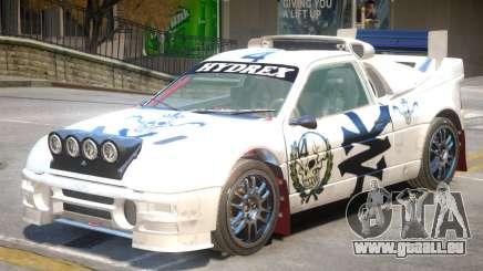 Ford RS200 Drift V1 PJ3 pour GTA 4