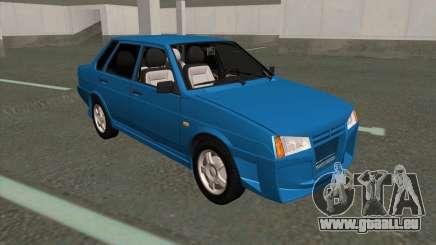 VAZ 21099 Réglage Complet pour GTA San Andreas