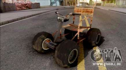 Wheelchair Mod für GTA San Andreas