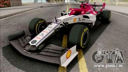 Alfa Romeo C38 F1 2019 pour GTA San Andreas