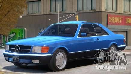 1987 Mercedes W126 R1 für GTA 4