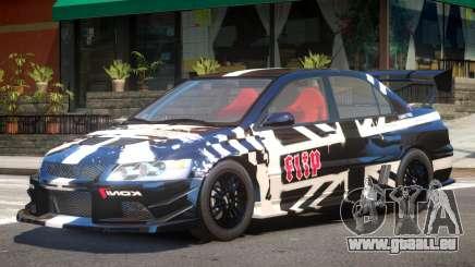 Mitsubishi Evo IX V1 PJ2 pour GTA 4