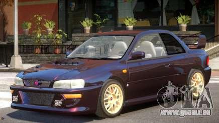 1998 Subaru Impreza V1.0 pour GTA 4
