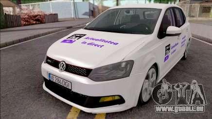 Volkswagen Polo GTI 2014 Digi24 HD pour GTA San Andreas