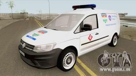 Volkswagen Caddy (Magyar Rendorseg) für GTA San Andreas