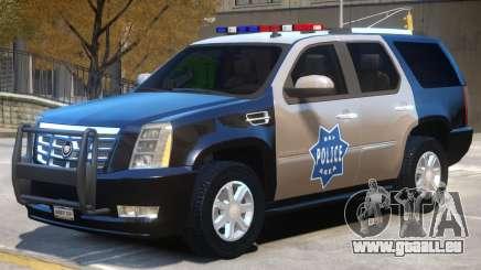 Escalade Police pour GTA 4