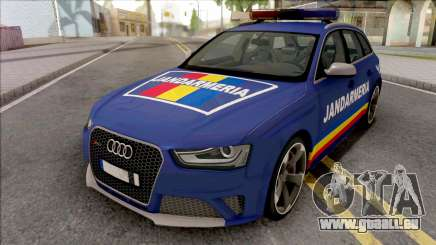 Audi RS4 Jandarmeria Romana pour GTA San Andreas