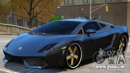 Lamborghini Gallardo LP560 V1 pour GTA 4