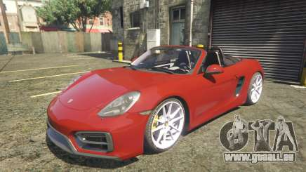 2016 Porsche Boxster GTS 1.0 pour GTA 5