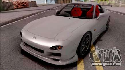Mazda RX-7 Drift Grey pour GTA San Andreas