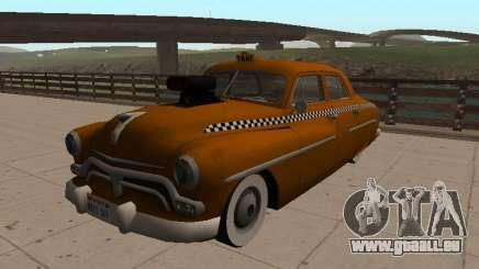1950 Mercury Monterey Sedan TAXI für GTA San Andreas