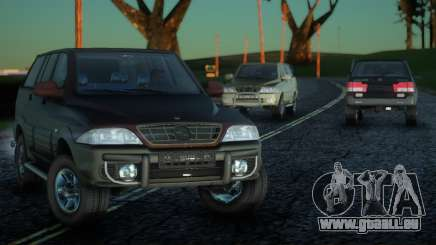 SsangYong Musso 3.2 für GTA San Andreas
