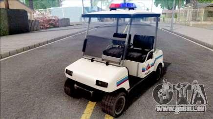 Nagasaki Caddy 1992 Hometown Police pour GTA San Andreas