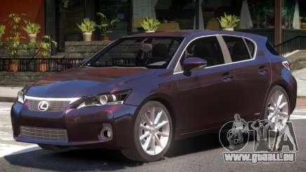 Lexus CT200h V1 pour GTA 4