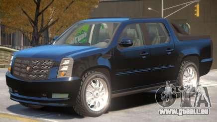 Cadillac Escalade Pickup pour GTA 4