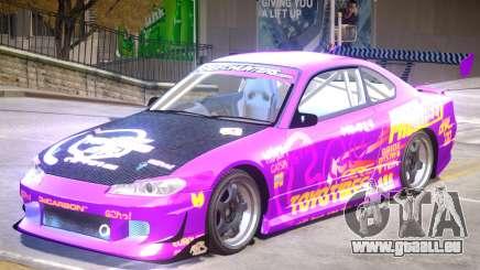 Nissan Silvia S15 V1.0 PJ2 für GTA 4