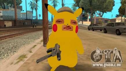 Michael Cercle en forme de Pikachu pour GTA San Andreas