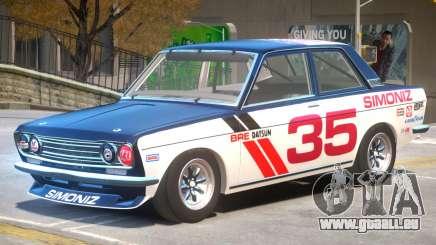 1971 Datsun Bluebird V1 PJ3 für GTA 4