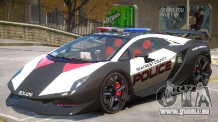 Lamborghini Sesto Police V1.2 pour GTA 4