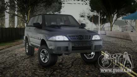 SsangYong Musso TD 2.9 für GTA San Andreas