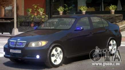 BMW E90 FBI pour GTA 4