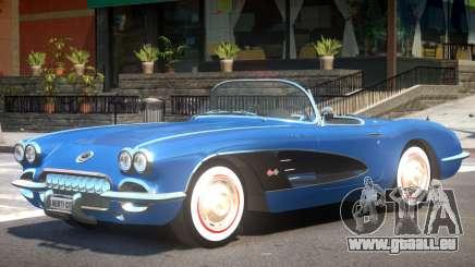 1960 Chevrolet Corvette C1 pour GTA 4