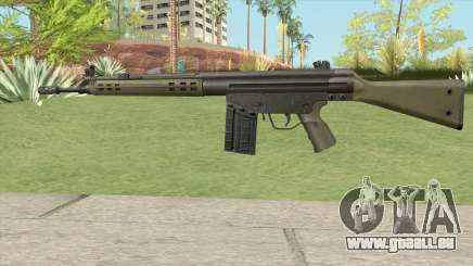 G3 Assault Rifle für GTA San Andreas