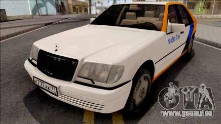 Mercedes-Benz S600L W140 Yandex Drive für GTA San Andreas