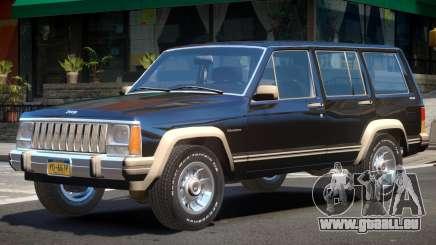 1984 Jeep Cherokee V1 pour GTA 4