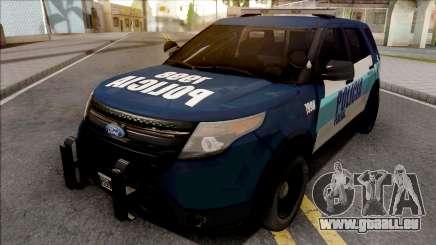 Ford Explorer Policia Federal Argentina pour GTA San Andreas