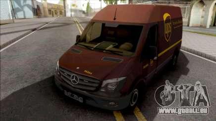 Mercedes-Benz Sprinter Van UPS pour GTA San Andreas