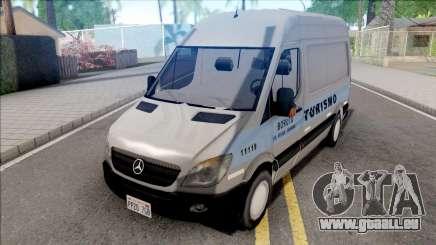 Mercedes-Benz Sprinter 2013 Comum v4 pour GTA San Andreas