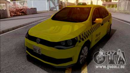 Volkswagen Voyage G6 Taxi JF pour GTA San Andreas