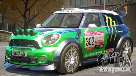 Mini Countryman Rally Edition V1 PJ5 für GTA 4