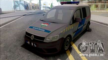 Volkswagen Caddy Magyar Rendorseg v2 für GTA San Andreas