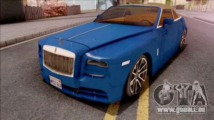 Rolls-Royce Dawn 2019 Low Poly pour GTA San Andreas