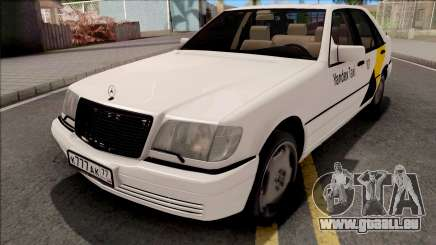 Mercedes-Benz S600L W140 Yandex Taxi White pour GTA San Andreas
