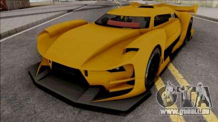 Citroen GT-LM IVF Style für GTA San Andreas