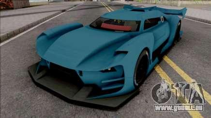 Citroen GT-LM SA Style für GTA San Andreas