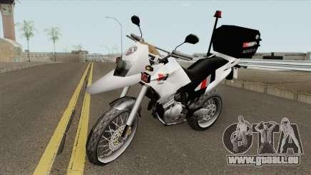 Honda XRE 300 (Policia SP) für GTA San Andreas