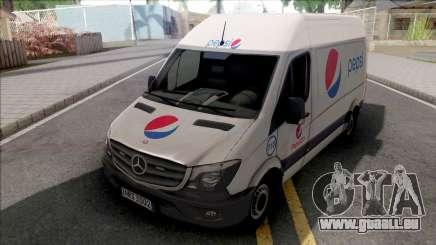 Mercedes-Benz Sprinter Van PepsiCO v2 für GTA San Andreas