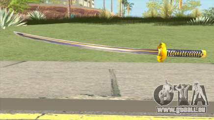 Yellow Katana für GTA San Andreas