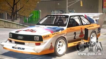 1982 Audi Quattro Sport pour GTA 4