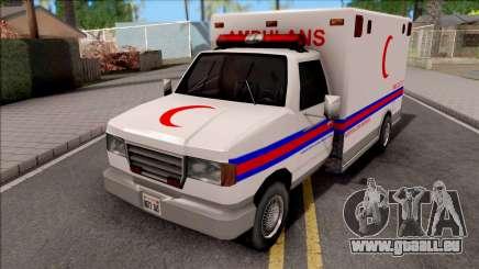 Ambulance Malaysia Hospital für GTA San Andreas
