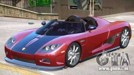 Koenigsegg CCX Roadster V1 pour GTA 4